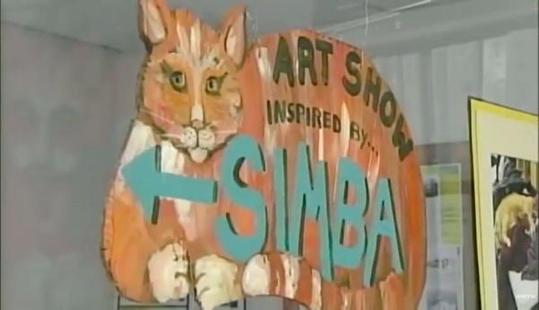 猫のアート展