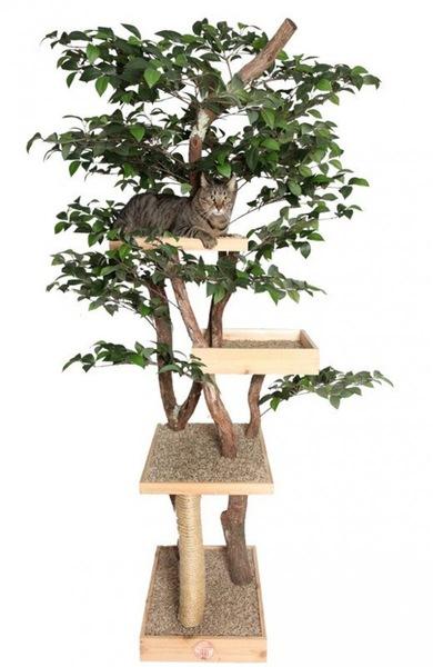 キャットツリーの本体