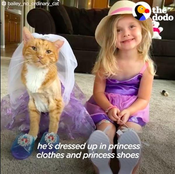 お姫様ごっこ